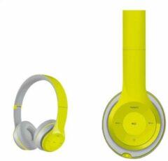 Groene Platinet FH0915GG hoofdtelefoon/headset Hoofdtelefoons
