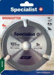 SSpecialist+ 125x22,3mm Cirkelzaagblad Universeel ,Carbide Getipt