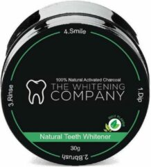 Groene Teeth Whitening Company The Whitening Company Coconut & Charcoal Teeth Whitening Powder Mint - Teeth Whitening -Non Peroxide - 100% natural/vegan - Geen gevoelige tanden