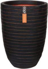 Capi europe Capi Nature Row NL vase laag 44x56cm bloempot bruin