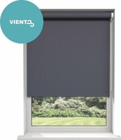 Afbeelding van Antraciet-grijze Viento Rolgordijn Antraciet Verduisterend - 120 cm x 180 cm