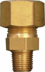 Gimeg Verloopkoppeling Recht - overige gasfittingmateriaal - bruin