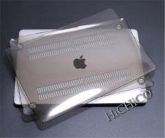 Macbook Pro Retina 15.4 inch Laptop Cover, Clear Hard Case Crystal Zwart – HiCHiCO
