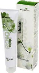 Bruine Elgon Get the Color Dolce - Crème haarkleuring zonder ammonia - 100ml - # 5.6 Light Brown Mahogany / Hellbraun Mahagoni / Castano Chiaro Mogano