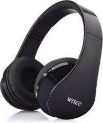 Zwarte WISEQ Bluetooth Draadloze Koptelefoon voor kinderen | On Ear| Alle toestellen, zoals Apple, Sams
