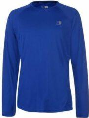 Karrimor Hardloop shirt lange mouw - Runningshirt - Heren - Cobalt blauw - S