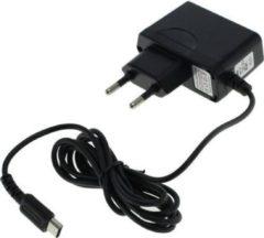 Zwarte Dolphix Game console oplader voor Nintendo DS Lite - 1,2 meter