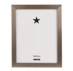Xenos Fotolijst basic - 15x20 cm - zilverkleurig