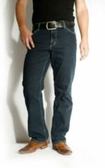 Marineblauwe Mustang Heren Jeans - 3169-5126-str. Marine (Maat: 33/32)