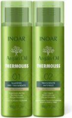 Inoar/Ghair Inoar Argan Oil Thermoliss Keratine behandeling ( Complete behandeling | 2 x 900 GR)