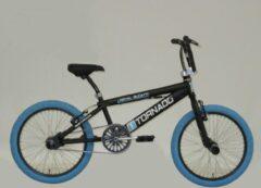 Royal Bugatti Freestyle BMX fiets - 20 inch - Zwart/Blauw