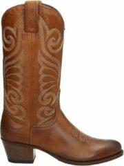 Sendra 11627 Deborah dames cowboylaarzen - Cognac - Maat 39