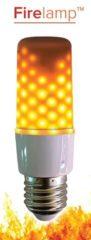 LED-lamp Energielabel: A++ (A++ - E) E27 Staaf 3 W Warmwit (Ã x l) 36 mm x 115 mm Incl. vlameffect, Incl. zwaartekrachtsensor 1 stuks