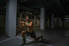 Groene Biofit Weerstandsband extra zwaar - Fitness Elastieken - Powerbands