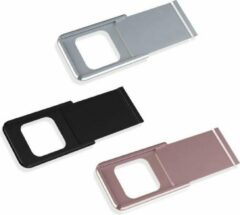 Creative Me Ultra dun aluminium webcamcover - 3-pack - roze