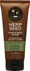 Earthly body (all) Guavalava Hand and Body Lotion with Guava Blackberry Scent - 7oz - Lotions