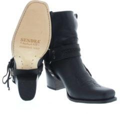 Zwarte Sendra 11199 Floter Negro Bras Boots western-boots