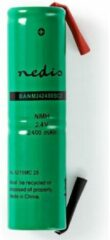 Groene HQ NIMH-2400/2 industrieel oplaadbare batterij/accu Nikkel-Metaalhydride (NiMH) 2400 mAh 2,4 V