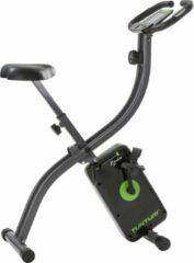 Grijze Tunturi Cardio Fit B20 X Bike Hometrainer - Opvouwbaar - Fitness Fiets