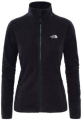 Fleecejacke 100 Glacier Full Zip mit Einzipp-System 2UAU-2UR The North Face TNF BLACK