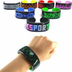 Merkloos / Sans marque Reflecterende armband (Geel)