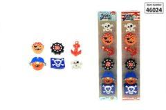 Toitoys Toi-toys Piratengummen Multicolor 6 Stuks