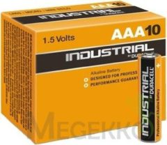 Ind.Alkal. AAA(VE10) - Battery Micro 1500mAh 1,5V Ind.Alkal. AAA(VE10)