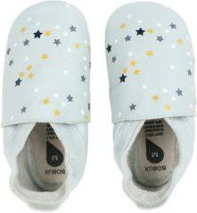 Bobux Soft Soles leren babyslofjes lichtblauw