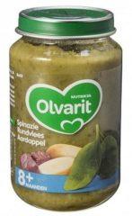 Olvarit Spinazie Rundvlees Aardappel 8+ Maanden (1 Potje van 200g)