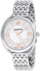Swarovski 5455108 Horloge Crystalline Glam zilver- en rosekleurig 35 mm