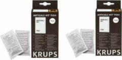Krups ontkalker - 2x verpakking a 2 zakjes - ontkalkingspoeder anticalc koffiezetapparaat oa. Dolce gusto nespresso