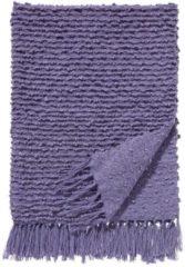 Damai Luxor plaid - 100% acryl - 130x170 cm - Paars, Lavender