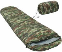 VidaXL Slaapzak lichtgewicht 15 850 g camouflage