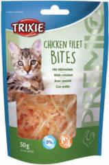 Trixie Premio Hapjes 50 g - Kattensnack - Kipfilet