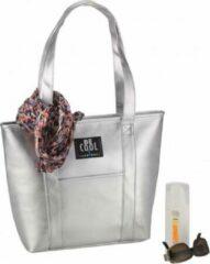 BE COOL Shopper L Zilver   koeltas   Premium   Coolingbag   22,5 ltr 