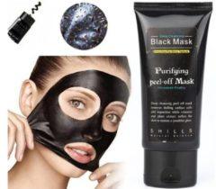 S, Hill S Black Head Peel Off Mask Tube Mee Eters & Acne verwijderen - Peel off Black Head Mask - 50 ml - Gezichtsmasker