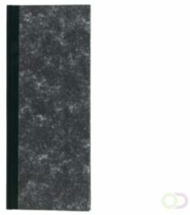 Office Smalfolio winkelboek 192blz gelinieerd zwart
