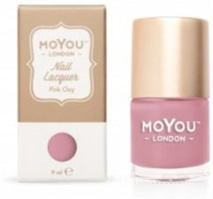 Mo You London MoYou London - Stempel Nagellak - Stamping - Nail Polish - Pink Clay - Roze