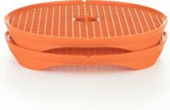 Börner Crispymaker   Chipsmaker voor groentechips   Oranje