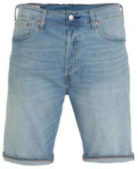Blauwe Levis 36512 0090 - 501 Hemmed Short Shorts AND Bermudas Men Denim Light Blue