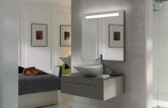 FOCCO Edel LED spiegel 80x70