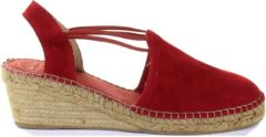 Rode Toni Pons Tremp Red Espadrille voor Dames - Maat 40