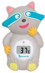 Blauwe NUK Badabulle Wasbeer Grijs Digitale Badthermometer