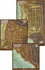 GaleForce9 D&D Waterdeep Dragon Heist Map Set