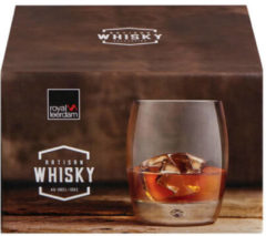 Transparante Royal Leerdam Artisan Whisky glazenset (set van 4)
