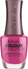 Fuchsia Artistic Nail Design Colour Revolution 'Flirty'