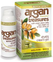 Pharmaid Argan Treasures Oog crème gel Botox effect 30ml