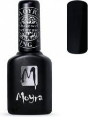 Zwarte Moyra Foil Polish For Stamping 10 ml FP01 Black