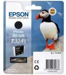 Epson T3241 - zwart - origineel - inktcartridge (C13T32414010)