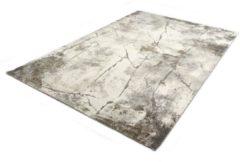 Karpet24.nl/Merinos Marmer Design Vloerkleed - Ibiza 607-95 Earth - Grijs-Beige-80 x 150 cm